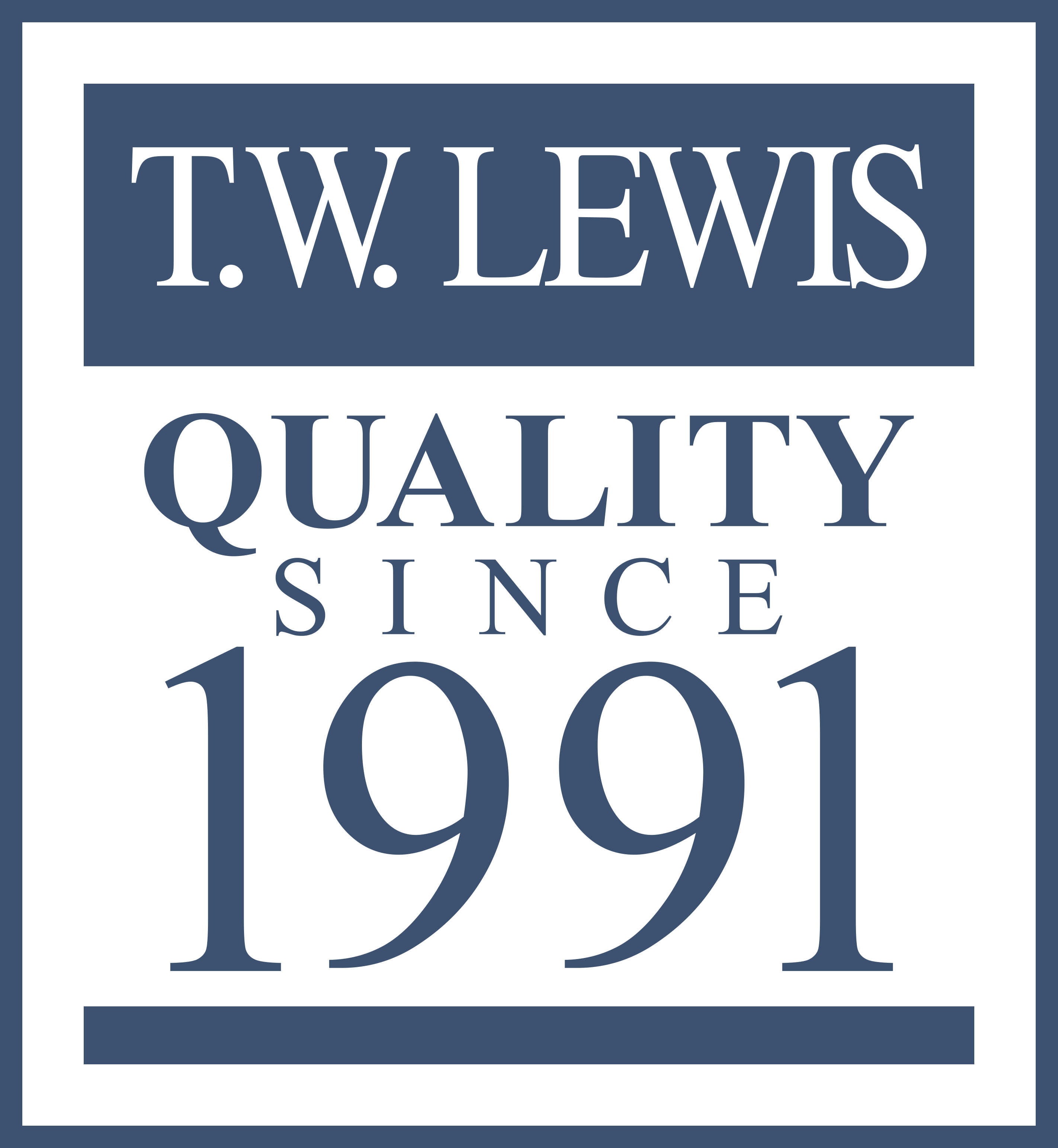 TW-Lewis-Quality-Since-1991-Logo_BlueOutline | Arizona ...