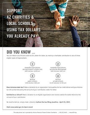 arizona state tax credits